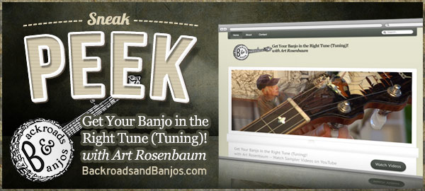 Banjo Tuning Sampler with Art Rosenbaum