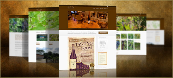 WordPress Website for Viandel Vineyard